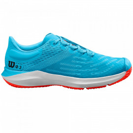 Zapatillas Wilson Kaos 3.0 JR Bonnie Blu/Wh/Tangerie