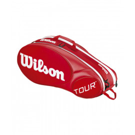 Paletero Wilson Mini Tour 6 PK Bag RD Rojo