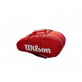 Raquetero Wilson Super Tour 3 Comp Red