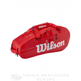 Raquetero Wilson Super Tour 2 Comp Large Red
