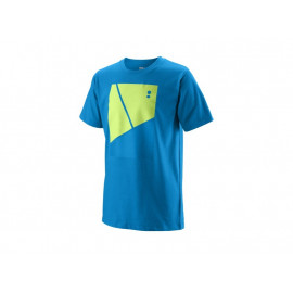 Camiseta Wilson niño Tramline Tech Tee Brilliant Blue