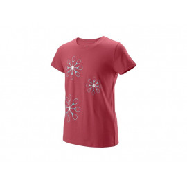 Camiseta Wilson niña Floret Tech Tee  Holly Berry